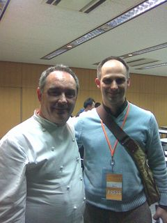 Ferran and Me. Seemed like a nice bloke.
