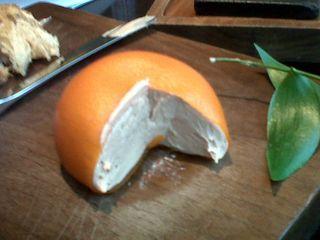 Mandarin cut